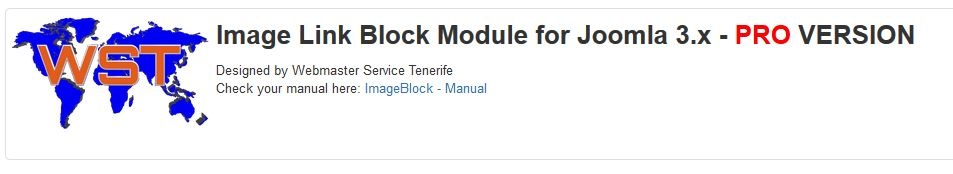 ImageBlock Module for JOOMLA 3.x PRO-Version
